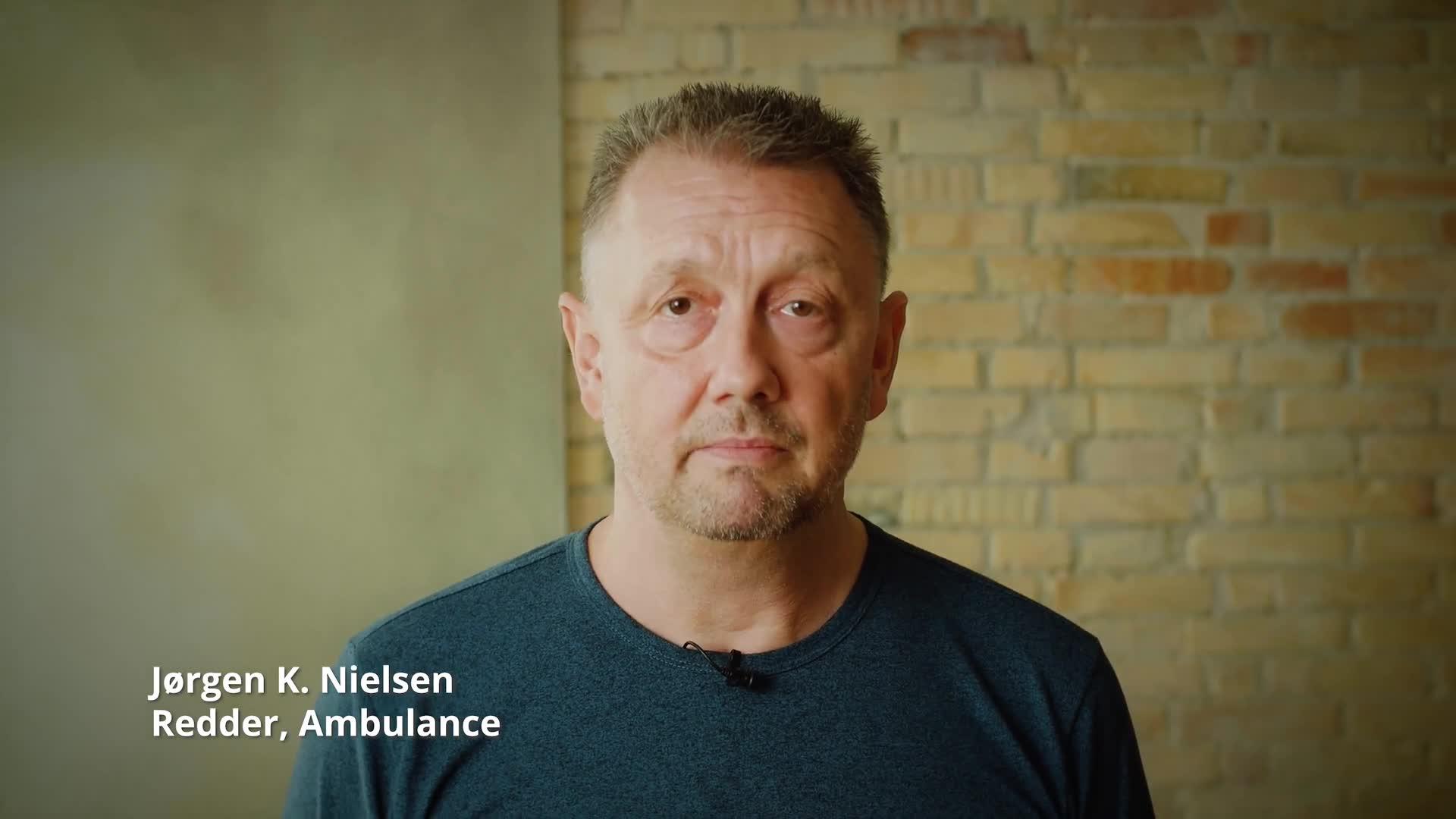 Jørgen fra Ambulance Syd fortæller om at være ordblind